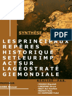 SYNTHESE GEOSTRATEGIE VF