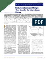 fatigue striations