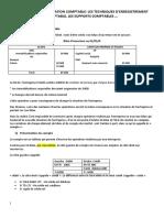 note de cours procedure comptable