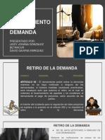 Retiro y Desistimiento de La Demanda (1)