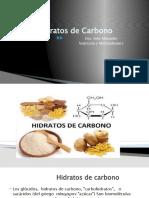Clases Hidratos de Carbono