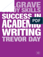 (Palgrave Study Skills) Trevor Day - Success in Academic Writing-Palgrave (2013)