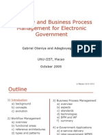 Workflow-And-Business-Process-Management-For-Egovernment--Seminar