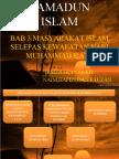 BAB 3-MASYARAKAT ISLAM SELEPAS KWAFATAN NABI MUHAMMAD S.A.W