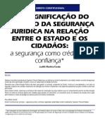 A Segurança Jurídica - Revista CJF