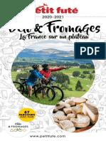 Le Petit Futé - Velo Et Fromages - La France Sur Un Plateau