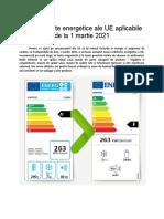 Care a fost procesul de aprobare a acestor modificări aduse etichetelor energetice?