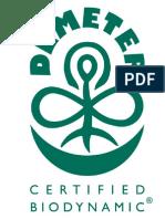 Certificari intalnite printre produsele alimentare ecologice - DEMETER
