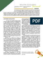 CEDICE, Boletín Legislativo, Reformas Tributarias