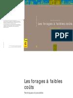Gret Les Forages a Faibles Couts Techniques Et Procedes 1996