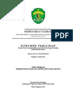 Dokumen Pemilihan Pembangunan Pagar Dan Gapura SLBN Tanah Grogot