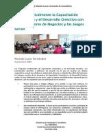 Mejore Radicalmente El Desarrollo Directivo Con Los Simuladores de Negocios y Los Juegos Serios
