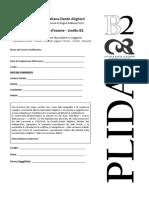 PLIDA B2 - pr. es- ascleg con chiave