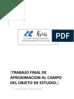 Trabajo Final de Aprimacion Al Campo de Estudio. Ramiro Solis.