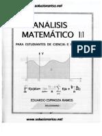 Dlscrib.com PDF Solucionario Analisis Matematico II Eduardo Espinoza Ramos Editado Dl 4e562beb33c5a74b2ec32dc0b00f4f79