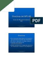 Directivas del MPLAB