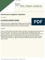 Indochine - Paris - SaigonBlog LeMonde