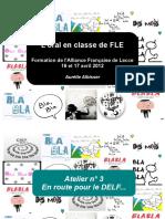 L'Oral en Classe de FLE - En Route Pour Le DELF
