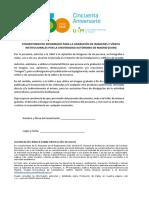 1. Consentimiento informado para grabación en UAM_ESP
