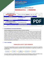 SEMANA 5 SESIÓN DE APRENDIZAJE Nº02-ITRIMESTRE-EPT