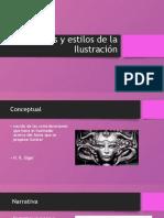 Géneros y estilos de la Ilustración