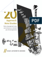 (Bass Clef) 20 Approach Note Etudes