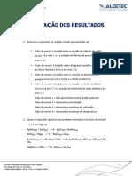 QUÍMICA GERAL E CIÊNCIA DOS MATERIAIS - Evidências de uma Reação Química - Relatório - Unid 3