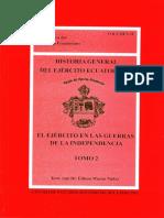 EDISON MACIAS HISTORIA GENERAL DEL EJÉRCITO ECUATORIANO TOMO 2