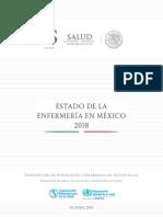 Estado Enfermeria Mexico2018