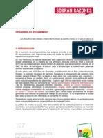 PROGRAMA DE GOBIERNO 2011 - DOS HERMANAS - DESARROLLO ECONÓMICO