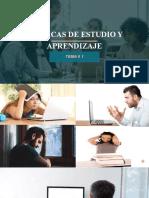 TEMA # 1 TÉCNICAS DE ESTUDIO Y APRENDIZAJE (2)