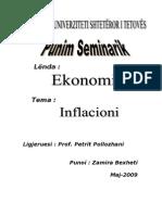 Punim Seminarik Inflacioni
