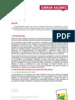 Programa de Gobierno 2011 - Dos Hermanas - Salud