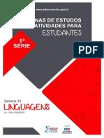Roteirodeestudo 1aserieem Linguagens Semana10