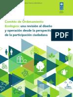 Comités de Ordenamiento Ecológico-una revisión al diseño y operación desde la perspectiva de la participación ciudadana