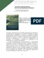 Arquitectura y Antropologia