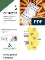 Rotulagem Nutricional Obrigatória