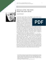 Boulez at 80