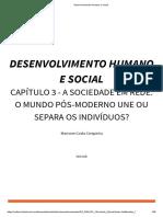 Desenvolvimento Humano e Social Unidade 3
