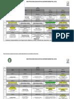 Horario Encuentros Virtuales Abril 2021 Bachillerato