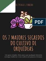 Os 7 Maiores Segredos Do Cultivo de Orquídeas