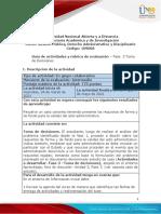 Guía de Actividades y Rúbrica de Evaluación - Unidad 3 - Fase 3 - Toma de Decisiones