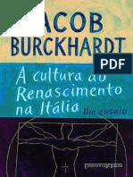 A Cultura Do Renascimento Na Itália by Jacob Burckhardt (Z-lib.org)