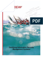 Certifying Information Security Management System