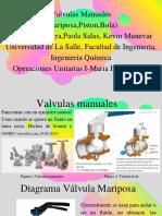 Valvulas Manuales Sergio Gomez,Paola Salas, Kevin Munevar