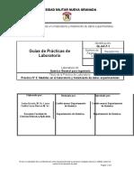 Práctica No 2 Medidas en el laboratorio y tratamiento de datos experimentales DL