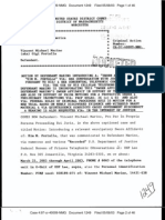 04.29.2003 (docketed 05.08.2003) Sworn Affidavit of Kim M. Portalia