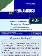A estrutura geológica do Brasil e sua relação com a formação do relevo