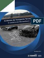 Acidentes de Transporte Terrestre o cenário em PE 2013