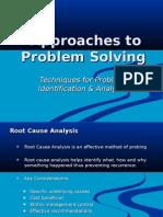 18_problem solving techniques